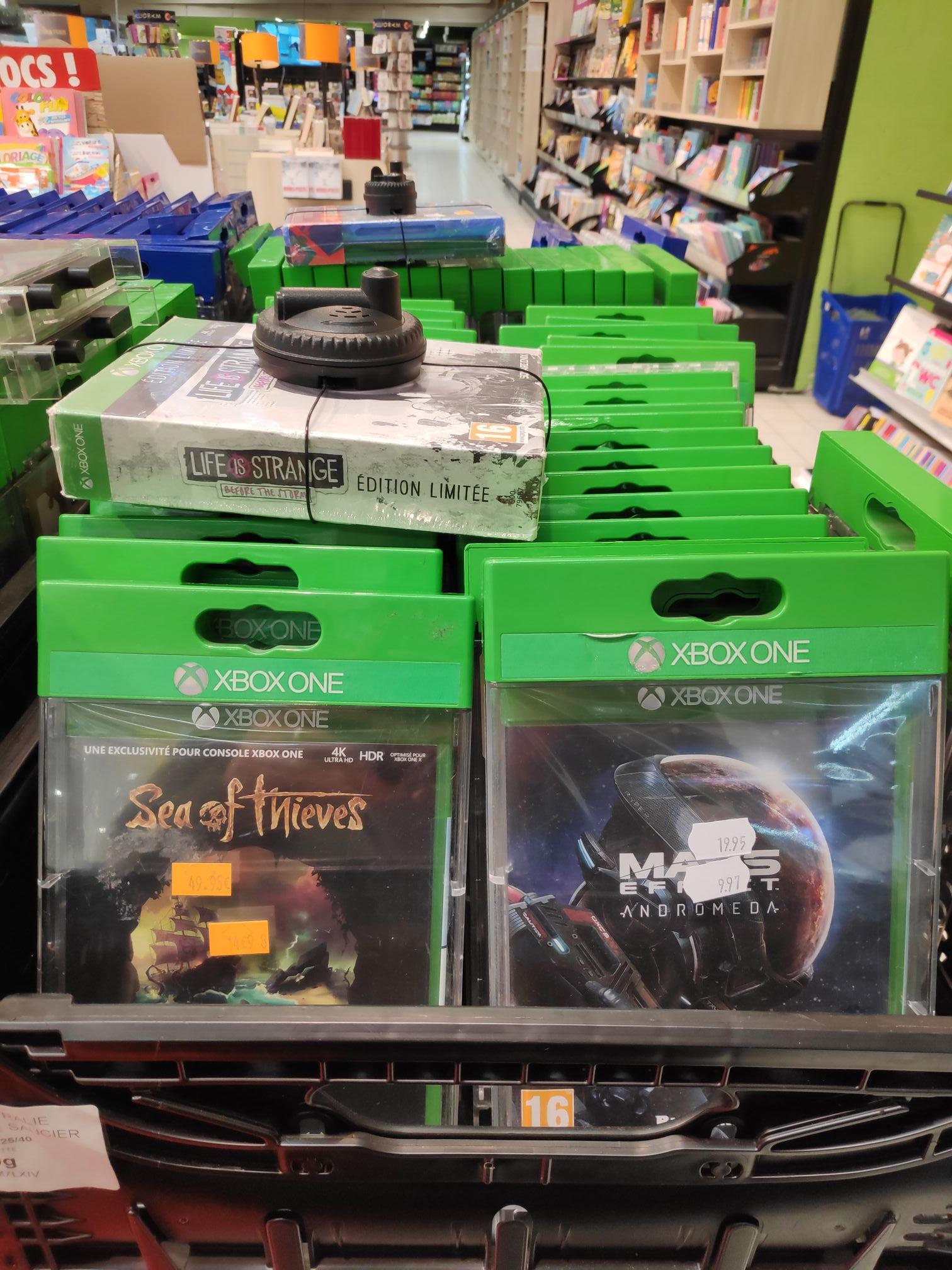 Sélection de jeux Xbox One en promotion - Ex: Sea Of Thieves 14.95€ - Beauvais (60)