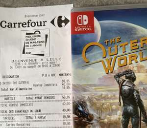 The Outer Worlds sur Nintendo Switch (Lille, Lomme, Calais 59)