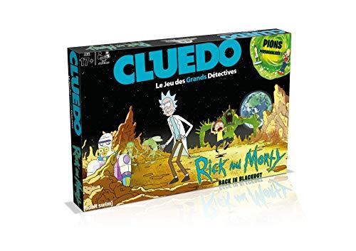 Jeu de société Cluedo : Rick & Morty (vendeur tiers)