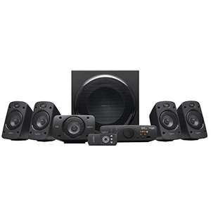 Système audio 5.1 Logitech Z906 Surround Sound Speaker System, THX, Dolby & DTS Certified, 1000 Watts