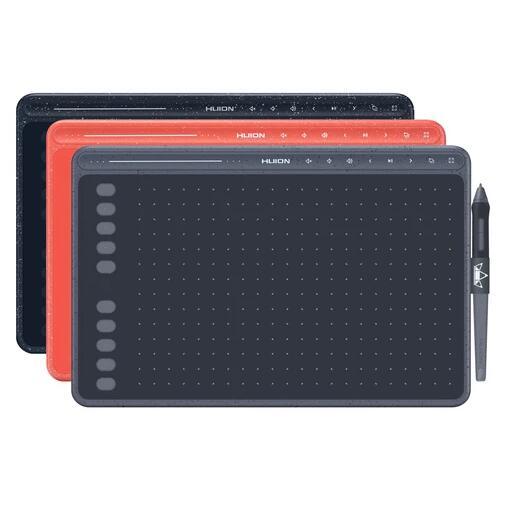 Tablette graphique Huion HS611 - 266 PPS, 8192 Niveaux de sensibilité, Plusieurs coloris (Entrepôt Allemagne)