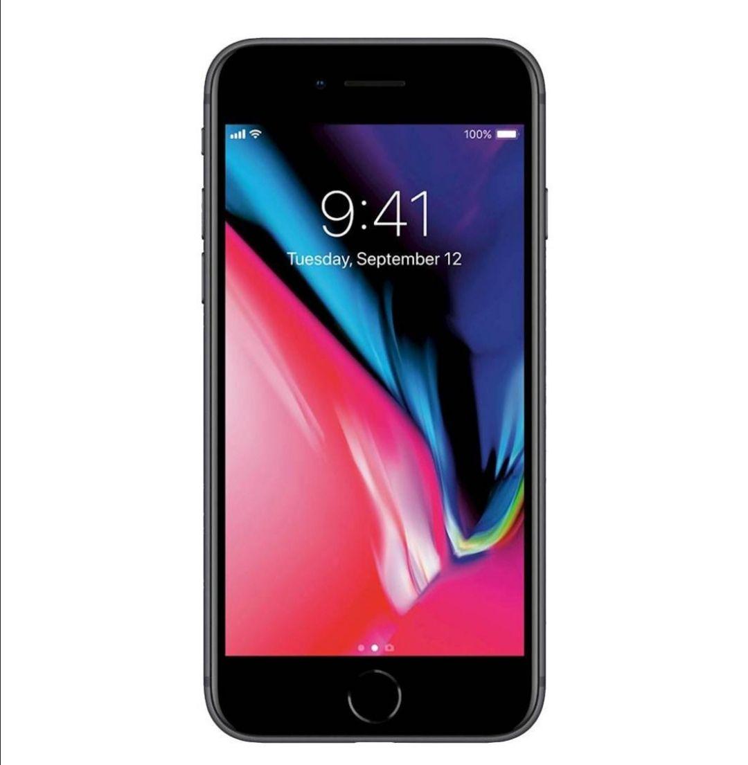"""Smartphone 4.7"""" Apple iPhone 8 - 64 Go, Gris Sidéral (Reconditionné - Etat Correct)"""