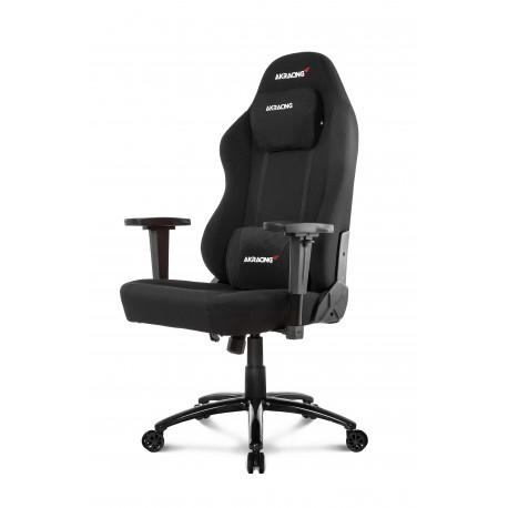 Chaise de bureau en tissu AKRacing Office Opal - Noir (fauteuilgamer.com)
