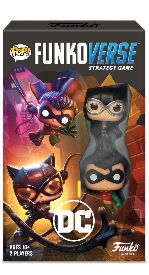 Jeu de société Funkoverse DC Comics Expandalone (2 figurines POP exclusives incluses)