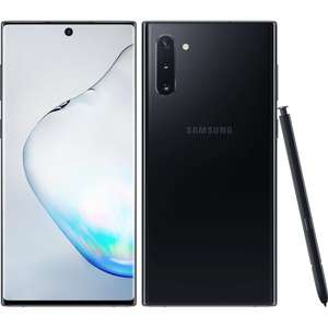 """Smartphone 6.3"""" Samsung Galaxy Note 10 - full HD+, Exynos 9825, 8 Go de RAM, 256 Go, noir"""