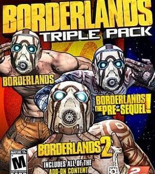Borderlands: Triple Pack sur PC (Dématérialisé)