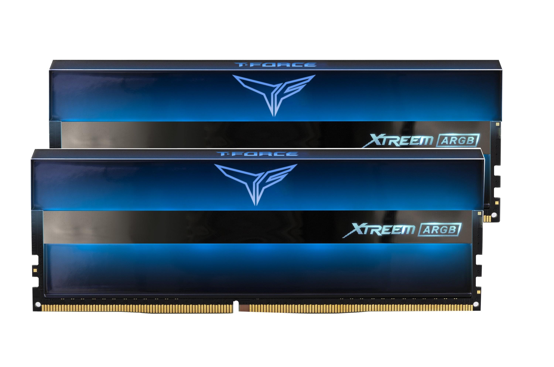 Kit mémoire RAM T-Force Xtreem ARGB - DDR4, 2 x 8 Go, 3200 MHz, CAS 16