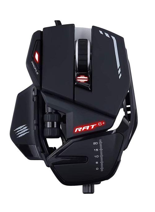 Souris optique Gaming filaire Mad Catz R.A.T. 6+ Noir