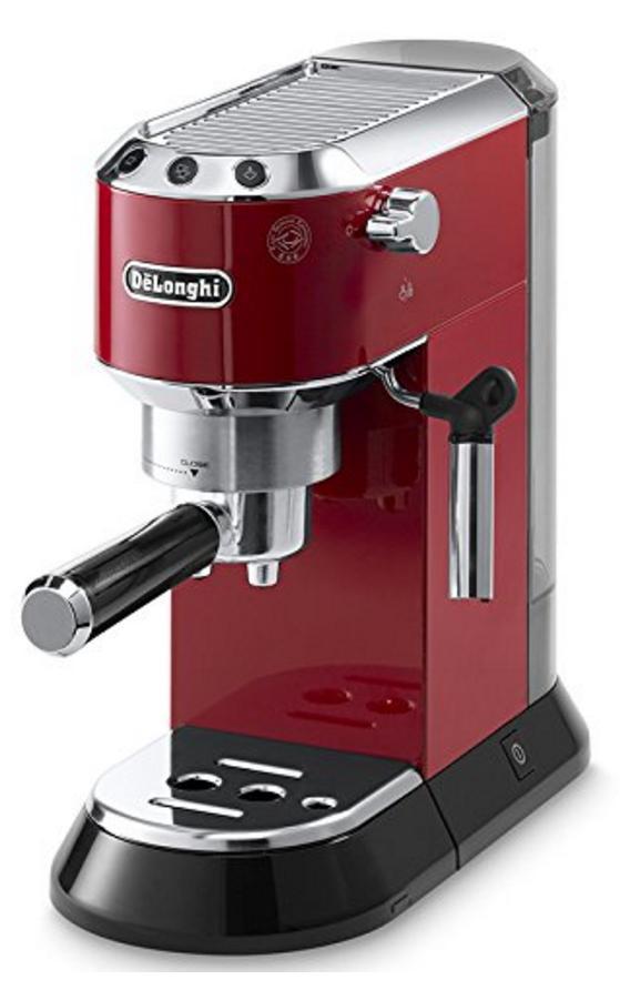 Machine espresso Delonghi Dedica EC 680R - Rouge