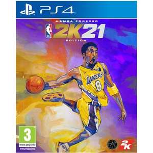 NBA 2K21 Edition Mamba Forever sur PS4 & PS5