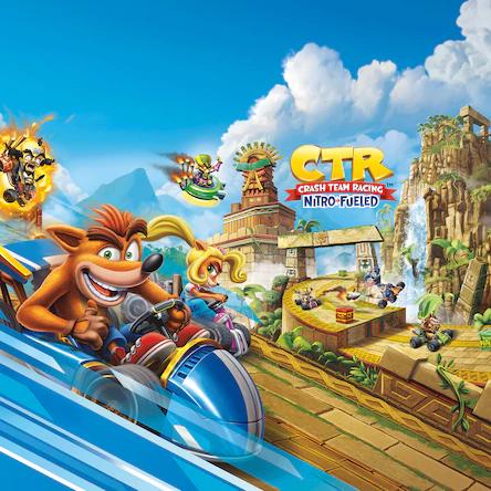 Sélection de jeux PS4 en promotion - Ex : Jeu Crash Team Racing Nitro Kart sur PS4 (Dématérialisé)