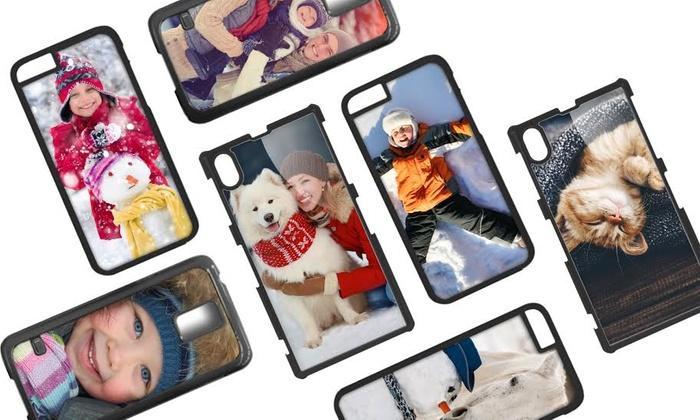 Coque personnalisable pour iPhone ou Samsung avec Printerpix