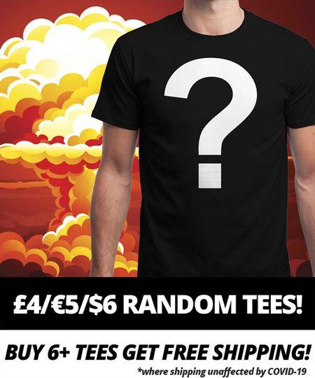 T-shirt Qwertee - Motif Aléatoire