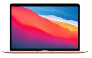 PC Portable 13.3'' Apple MacBook Air GOLD - Late 2020 - Retina, M1, RAM 8Go, SSD 256Go (Frontaliers Suisse)