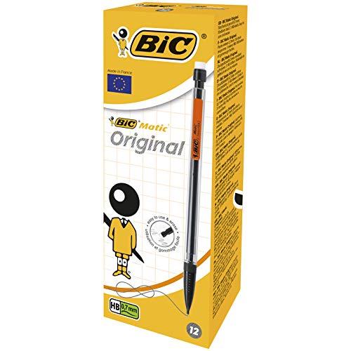 Boîte de 12 Porte-Mines BIC Matic Original - 0,7 mm HB,