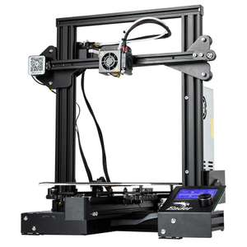 Imprimante 3D Creality 3D Ender 3 Pro - 220 x 220 x 250 mm (Entrepôt EU)