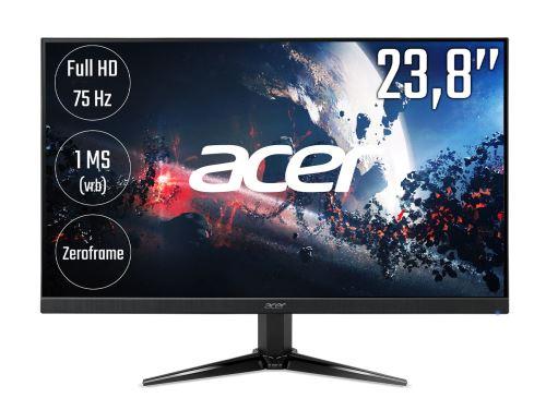 "Écran PC 23.8"" Acer QG241Ybii - LED, Full HD, Dalle VA, 75 Hz, 1 ms, FreeSync"