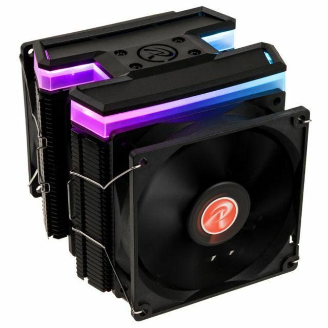 Ventirad de processeur Raijintek Delos RBW Rainbow RGB LED