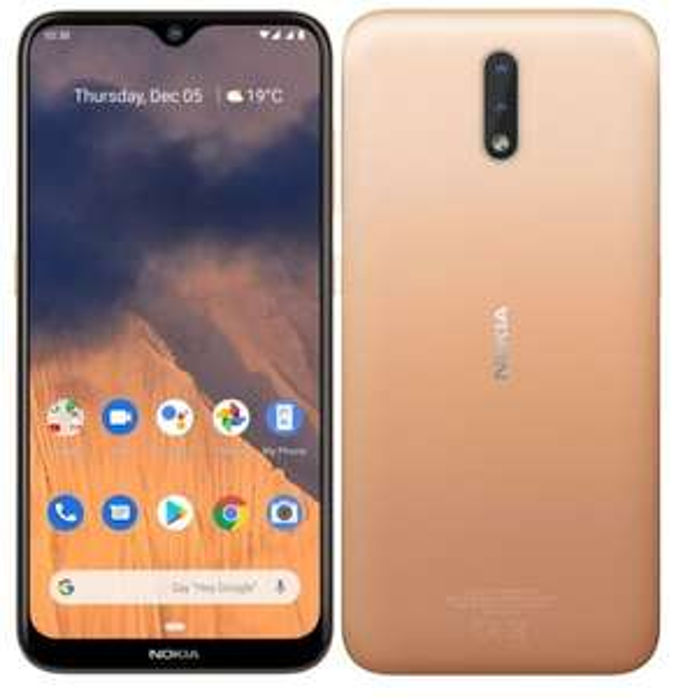 "Smartphone 6.21"" Nokia 2.3 - HD+, 4G, 32 Go, 2Go RAM"