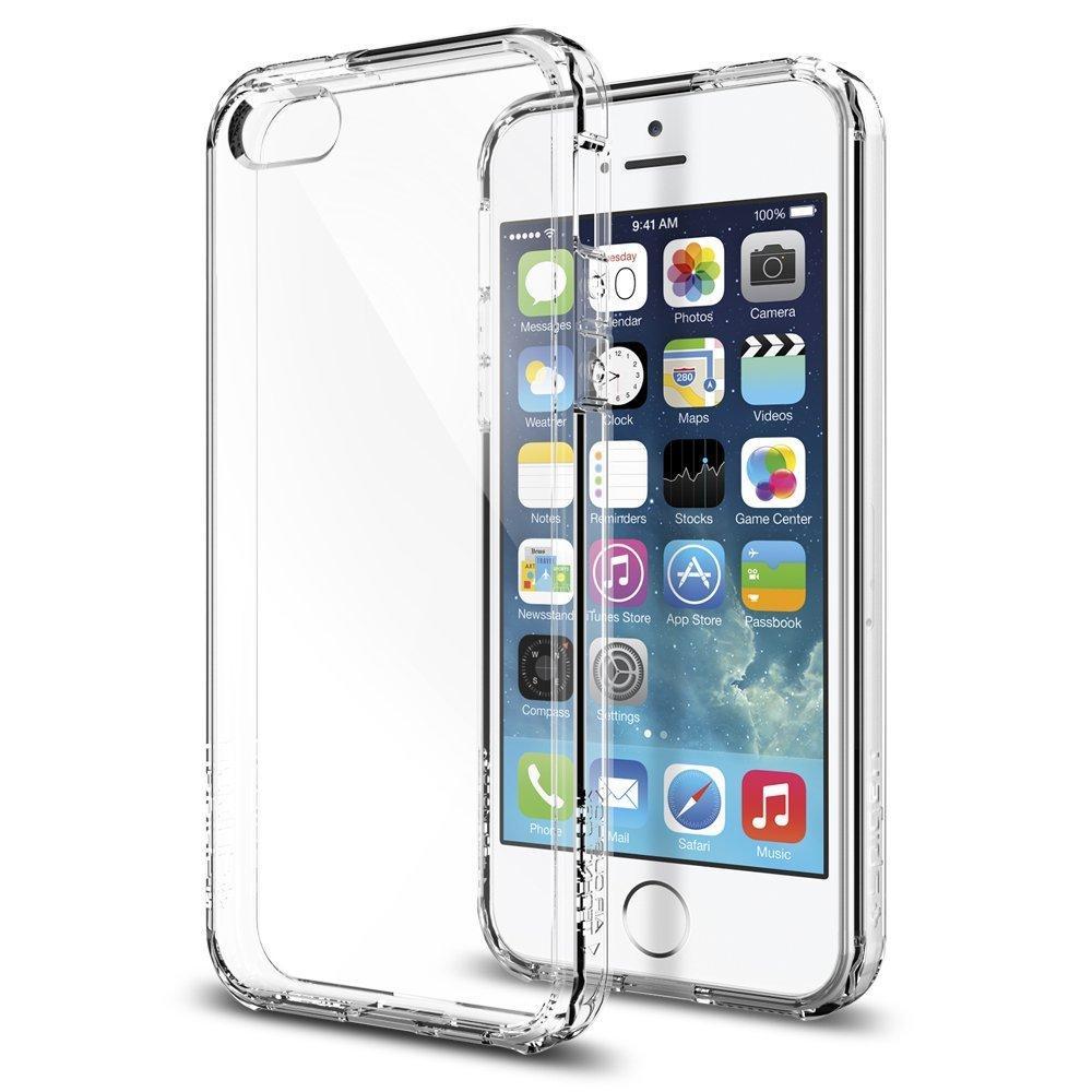 Coque Spigen Ultra Hybrid Crystal Clair pour iPhone 5 / 5s