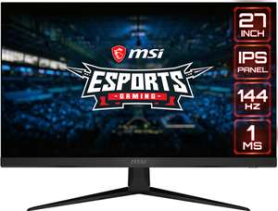 "Écran PC 27"" MSI Optix G271 - full HD, LED IPS, 144 Hz, 1 ms, FreeSync"