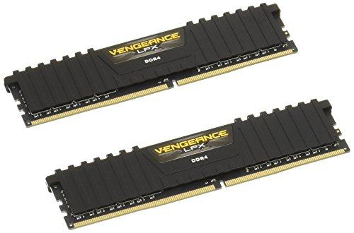 Kit Mémoire RAM Corsair Vengeance LPX (CMK8GX4M2A2666C16) - 8 Go (2 x 4 Go), DDR4, 2666 MHz, CAS 16