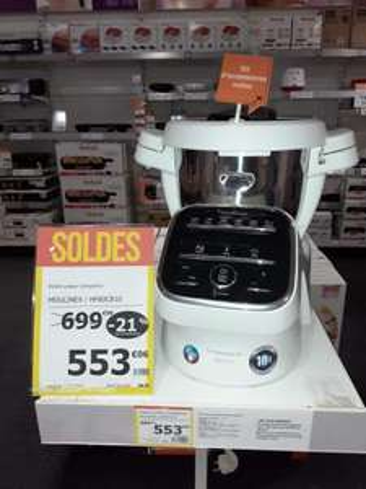 Robot cuiseur Moulinex Companion XL HF80CB10 (Glisy 80)