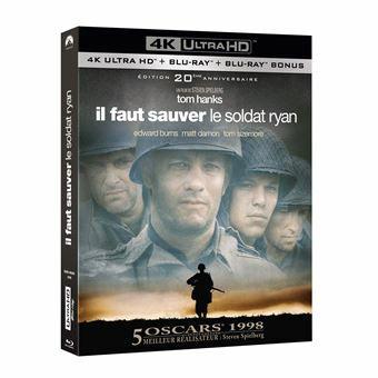 Film Blu-Ray 4K + 2D Il faut sauver le soldat Ryan - Édition 20ème anniversaire