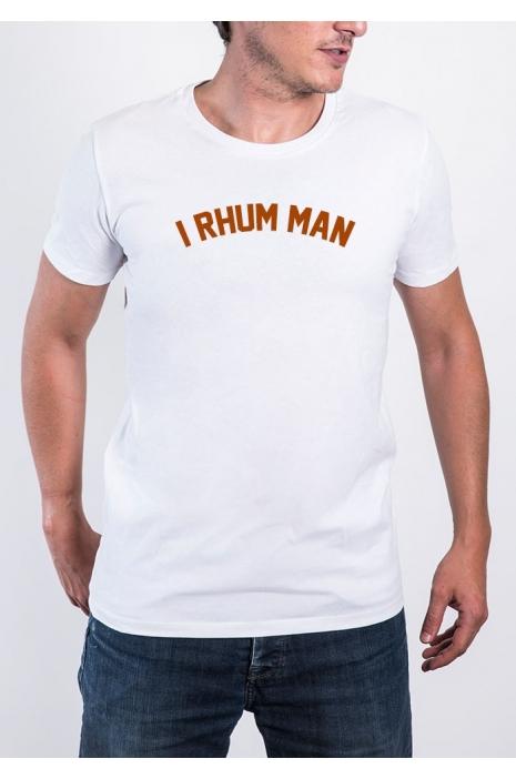 Tee-shirt I Rhum Man - différents coloris (du XS au XXL) - TShirt-Corner.com