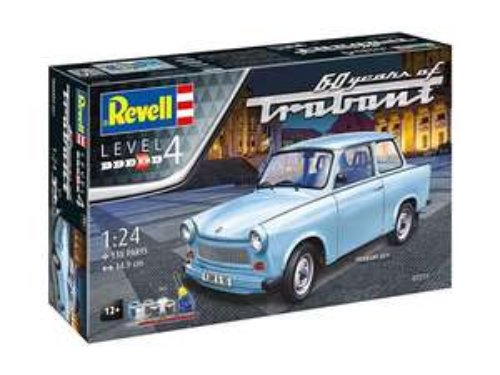 Sélection de maquettes Revell en promotion - Ex : Maquette Trabant 601S 60ème Anniversaire 1:24