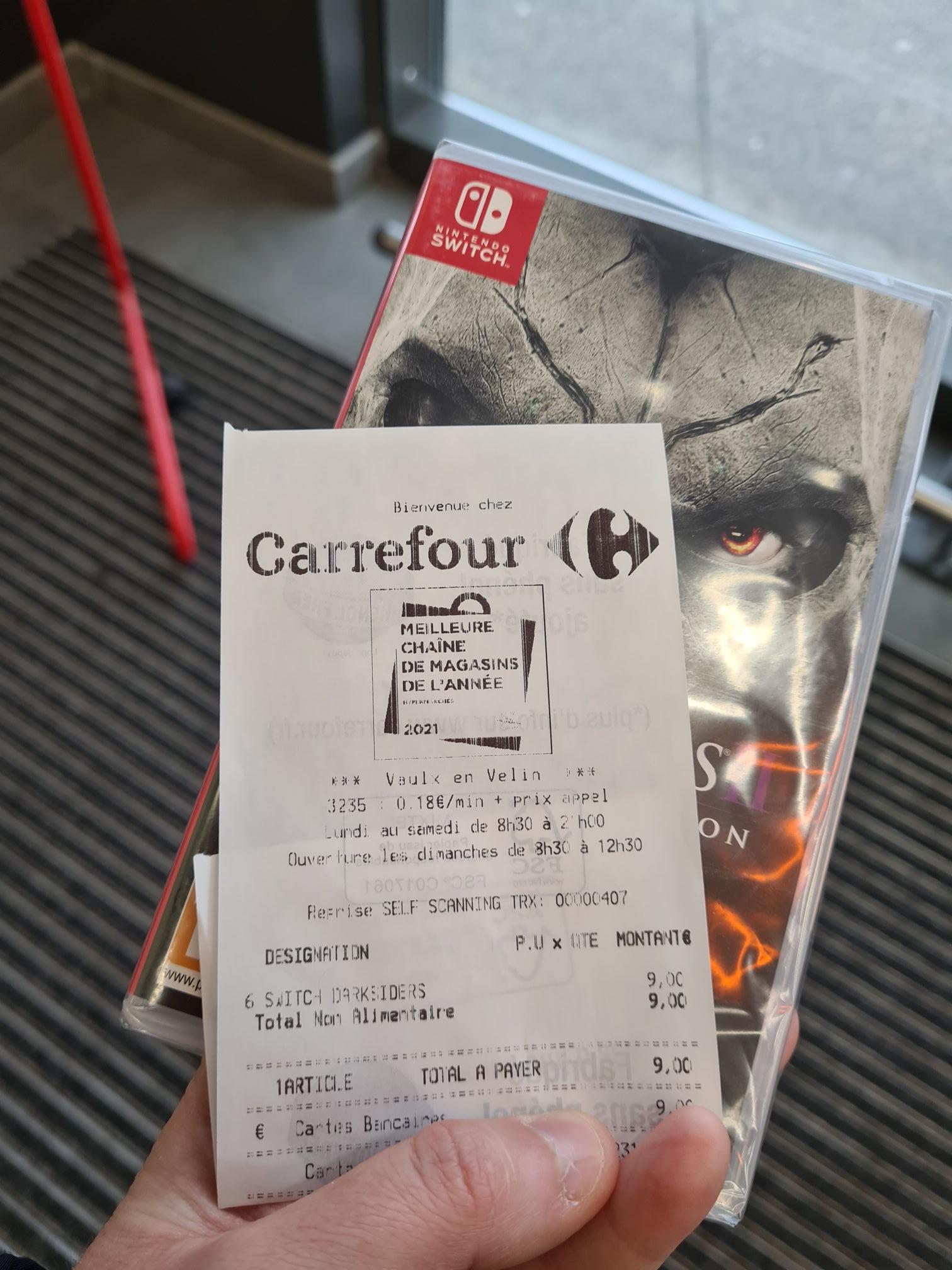Sélection de jeux vidéo en promotion - Ex : Darksiders 2: Deathinitive Édition sur Switch - 7 Chemins Vaux-en-Velin (69)