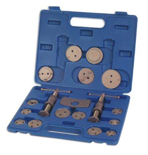 Coffret repousse-piston pour étriers de frein Laser 3835 - 18 pièces