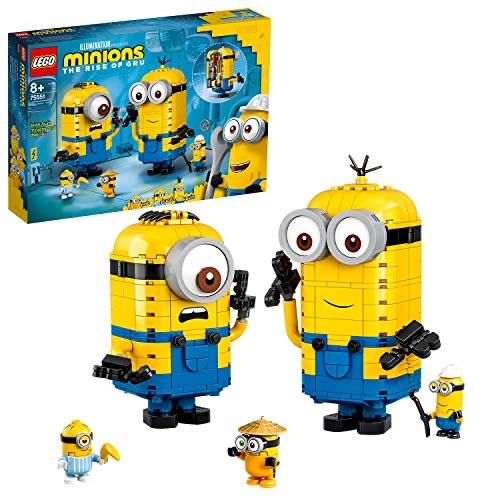 Jeu de construction Lego Minions (75551) - Les Maxi-Minions et Leurs repaires