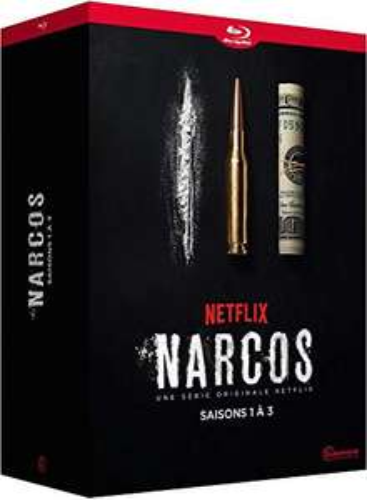 Coffret Blu-ray : Narcos - S1 à S3