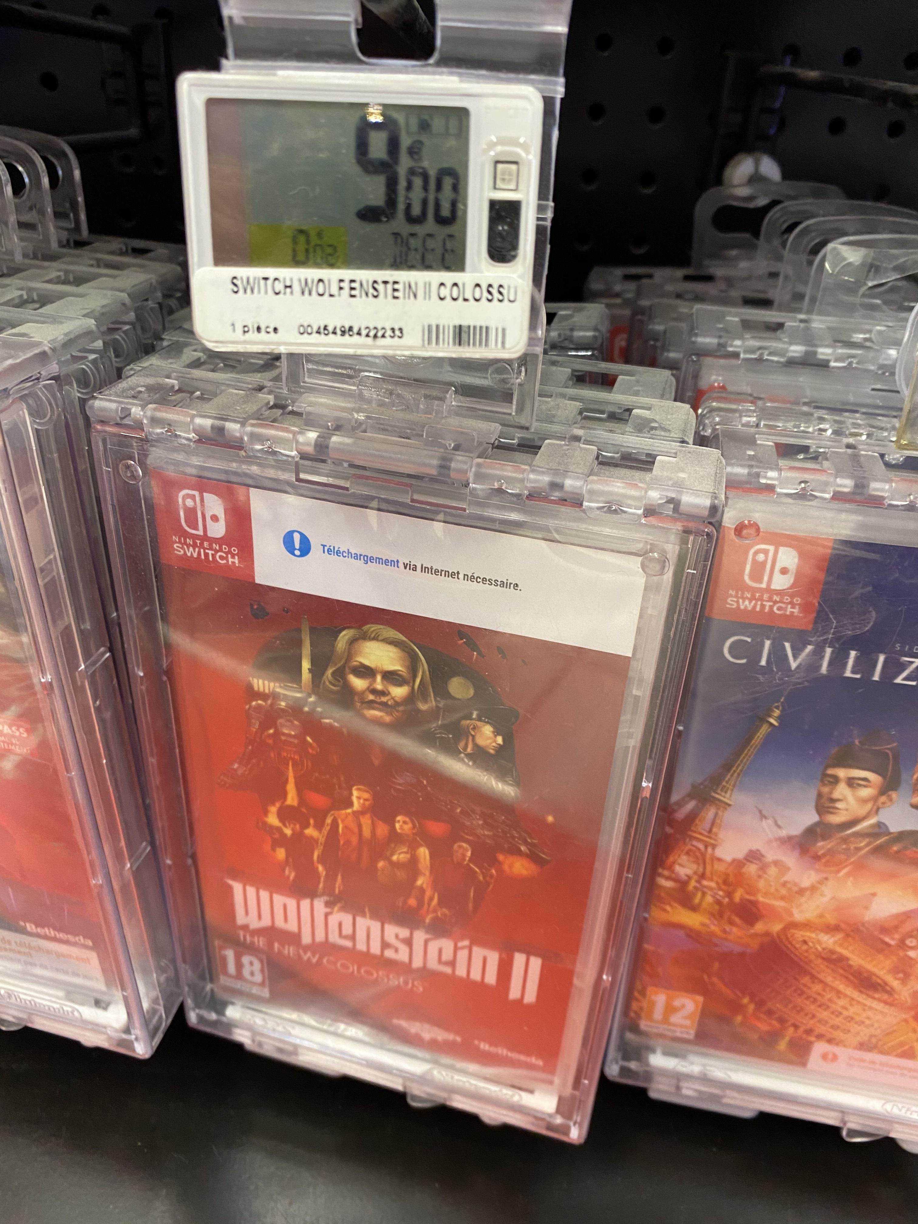 Wolfenstein II sur Nintendo Switch - Nice Lingostière (06)