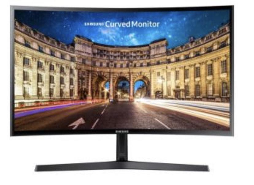 "Écran PC 27"" Samsung C27F396FHU - Incurvé, Full HD, 75 Hz, 4ms, FreeSync, Flicker-Free, HDMI (Via ODR 15€)"