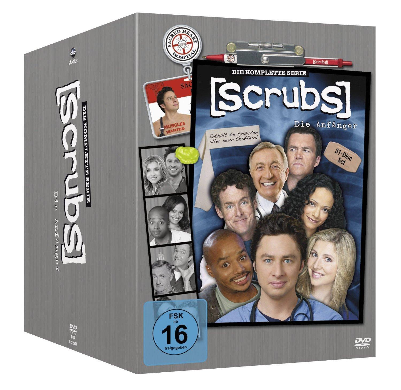 Coffret DVD Scrubs - Intégrale des saisons 1 à 9