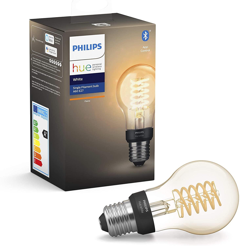 Ampoule LED connectée Philips Hue Filament White E27