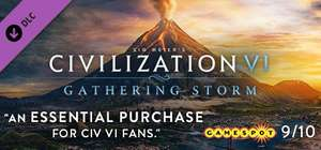 Sélection d'extensions pour Civilization VI en promotion - Ex : Extensions Gathering storm sur PC (Dématérialisé, Steam)