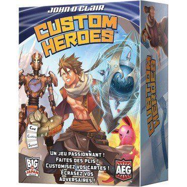 Sélection de jeux de société en promotion - Ex :Custom Heroes (Ludifolie.com)