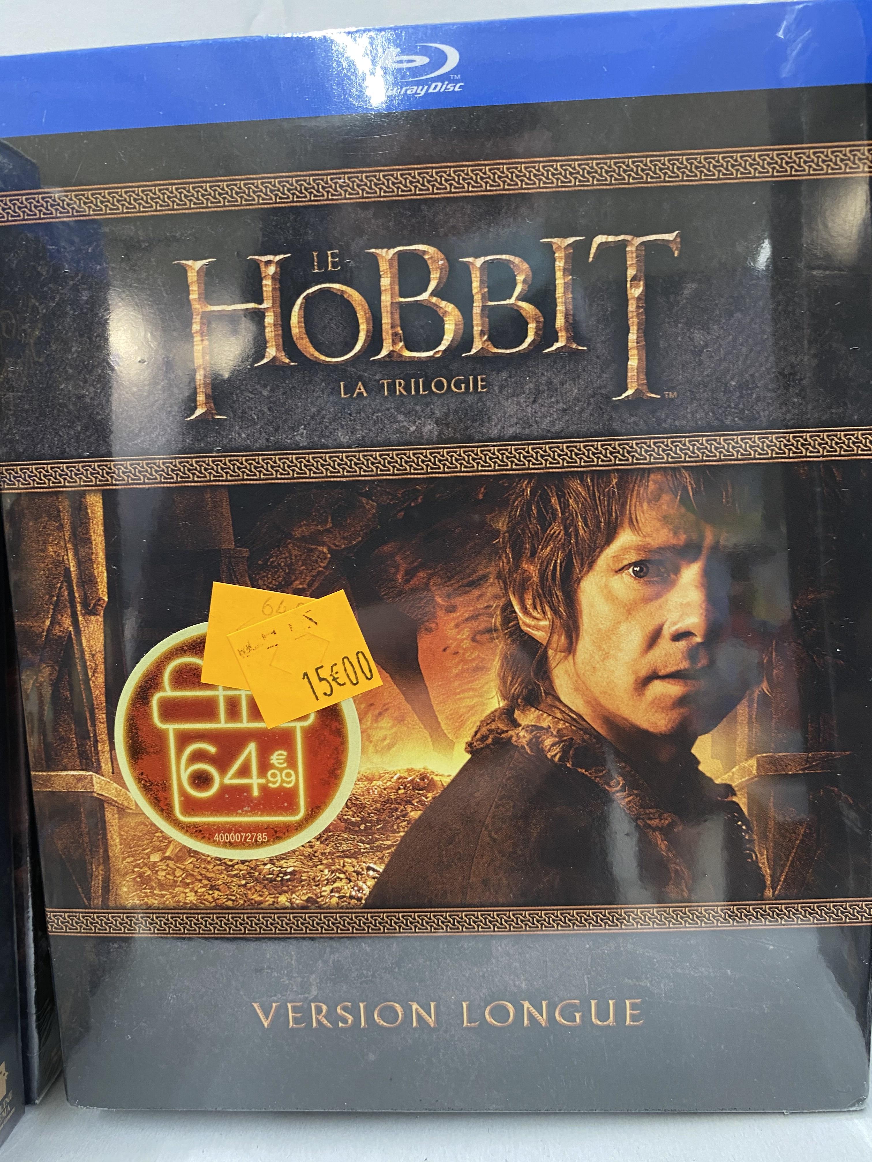 Coffret Blu-Ray Le Hobbit - La Trilogie (Version Longue) - Montesson (78)