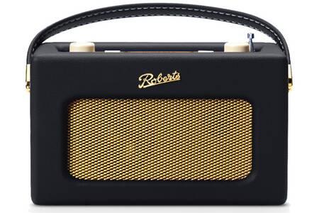 Radio numérique Roberts Revival iStream 3 - Bluetooth, FM, DAB et DAB+, Noir
