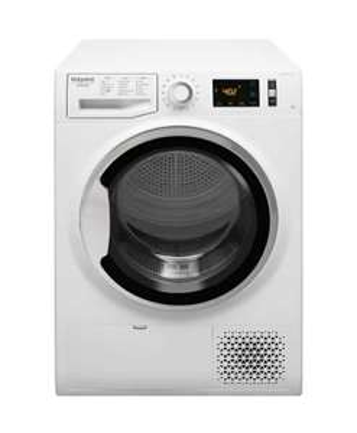 Sèche-linge pompe à chaleur HotPoint NTM1182SKFR - 8 Kg, Classe A++, Blanc