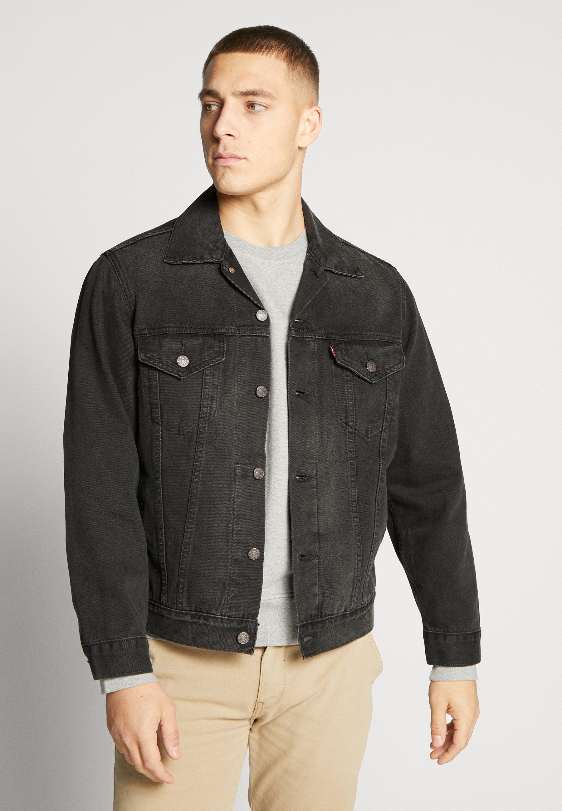 Levi's veste en jean Vintage Fit Trucker Unisex - Noir