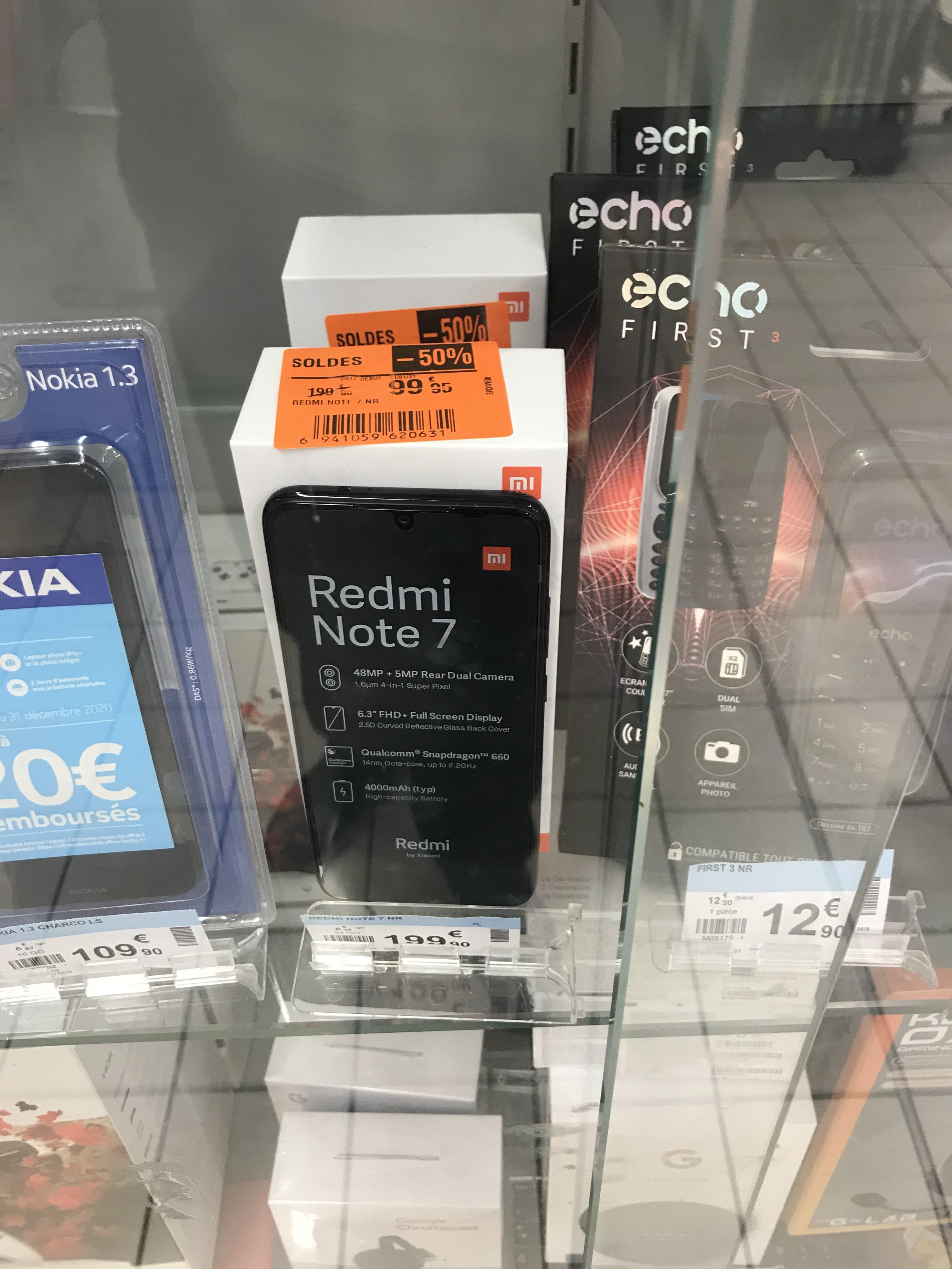 """Sélection de smartphones en promotion - Ex : Smartphone 6.3"""" Xiaomi Redmi Note 8T (64 Go) - Veauche (42)"""