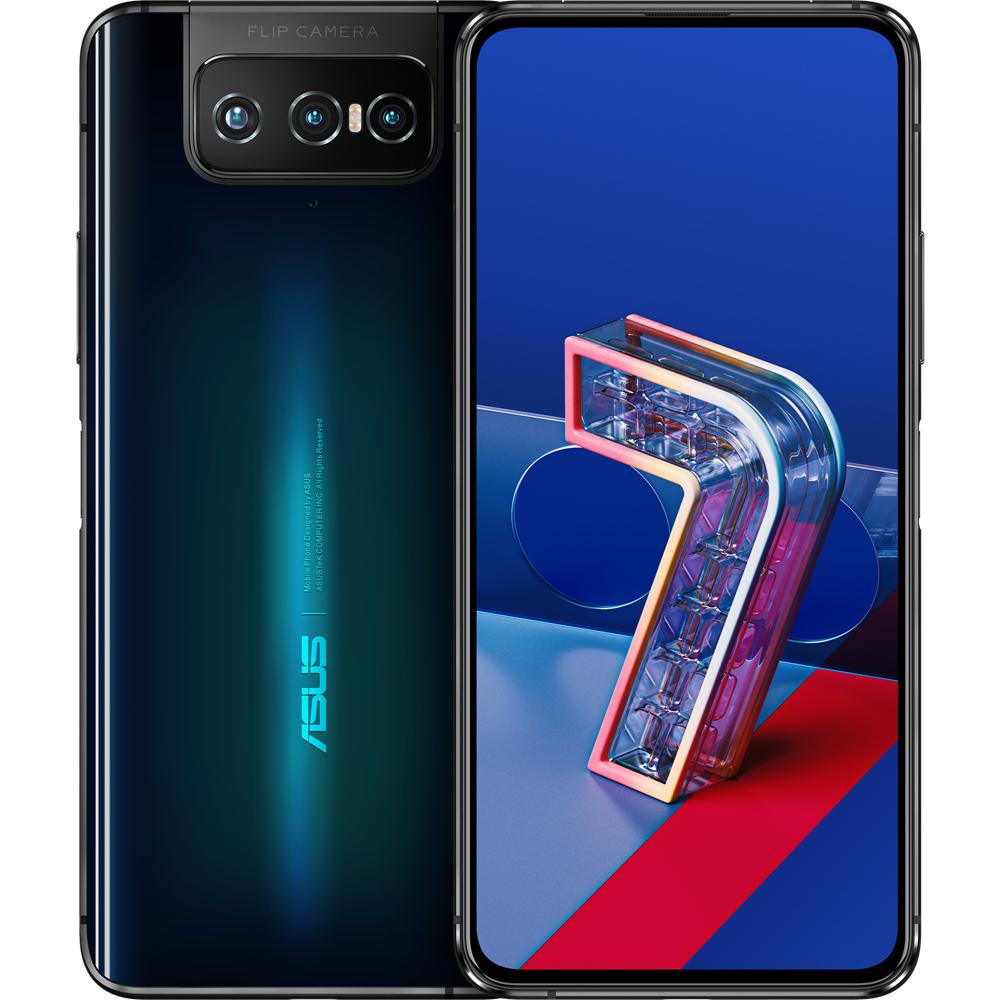 "Smartphone 6.67"" Asus ZenFone 7 5G - full HD+, AMOLED 90 Hz, SnapDragon 865, 8 Go de RAM, 128 Go, film en 8K + écouteurs Bluetooth ZenEar"