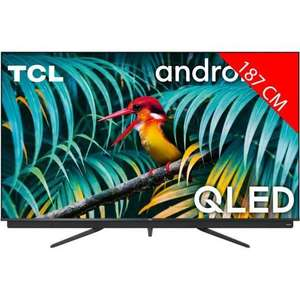 "TV 75"" TCL 75C811 - 4K UHD, QLED, Barre de son , 100hz, Dalle VA 10bits"