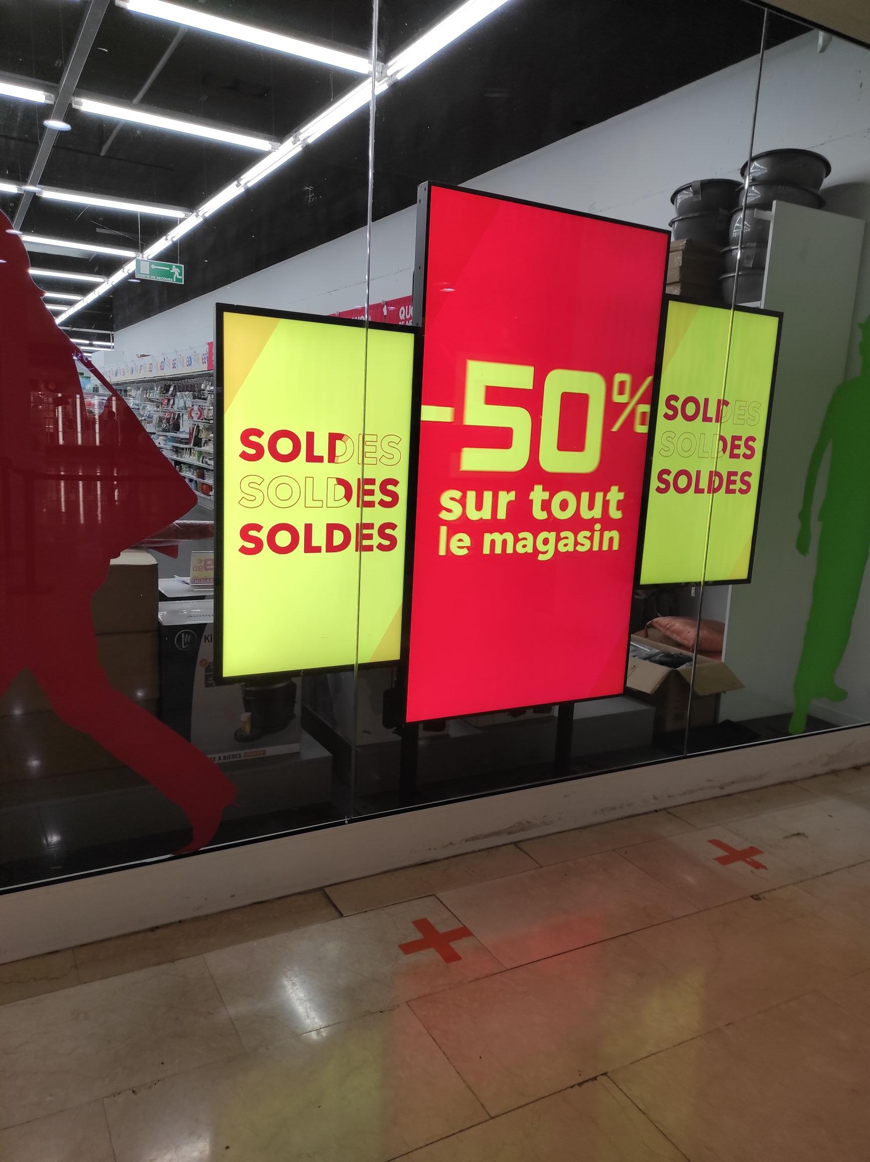 50% de réduction sur tout le magasin - Val d'Europe (77)