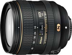 Objectif photo Nikon AF-S DX 16-80mm f/2.8-4 ED VR