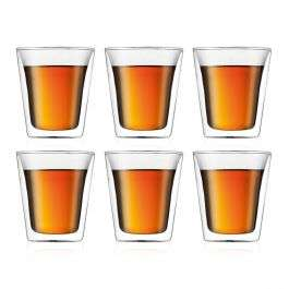 Sélection d'articles Bodum en promotion - Ex : Set 6 verres à Double paroi Canteen (6x0.2 L)